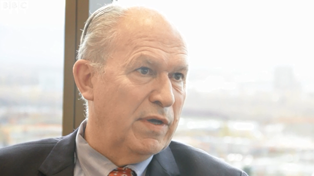 Governor Bill Walker says Alaska needs to drill for more oil in order to meet rising climate change costs. Photo: BBC News