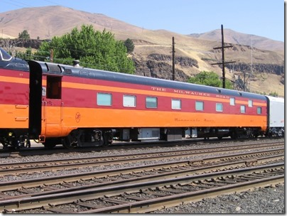 IMG_7776 Milwaukee Road Sleeping Car #31 'Minnesota River' in Wishram, Washington on July 3, 2009