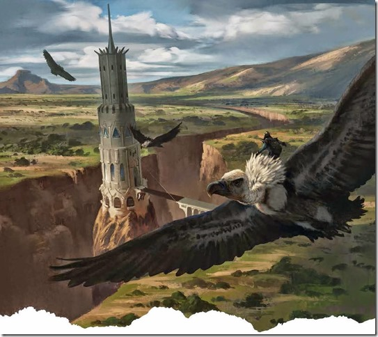 Vultures are not especially knightly