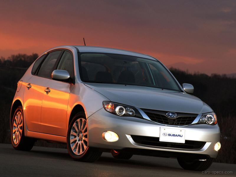 2009 subaru impreza hatchback specifications pictures prices. Black Bedroom Furniture Sets. Home Design Ideas