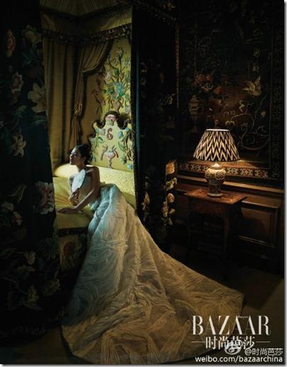 Liu Wen X Bazaar China 劉雯 X 時尚芭莎 - 鏡花水月 09