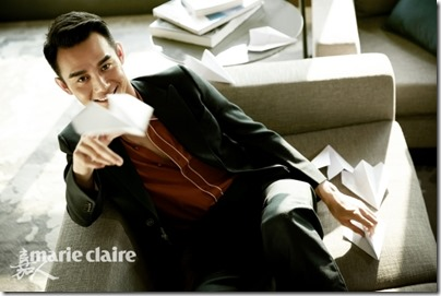 Wang Kai X Marie Claire China 王凱 X 嘉人 2015 Dec issue 01