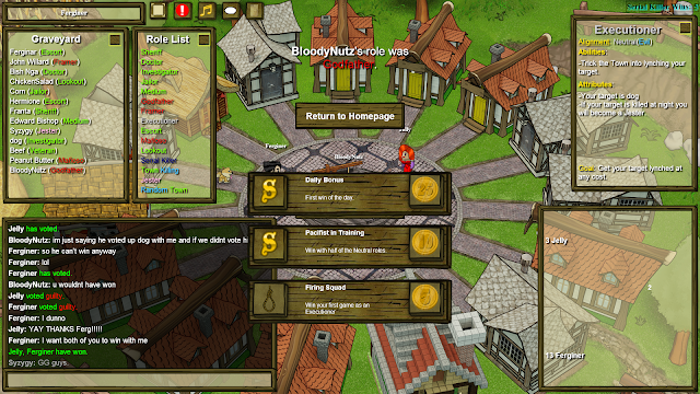 Town of Salem - Executioner victory
