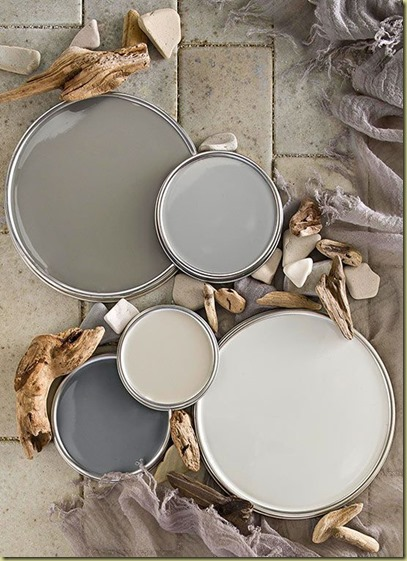 gray paint from bhg