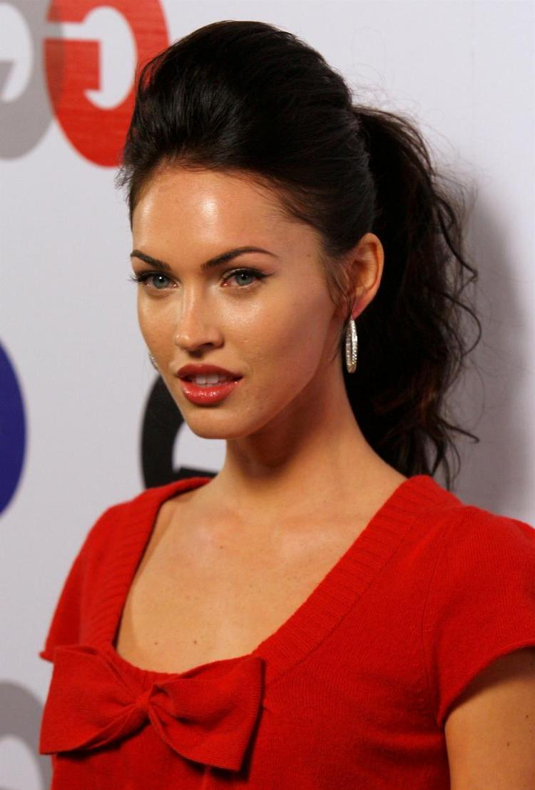 hairstyle from Megan Fox