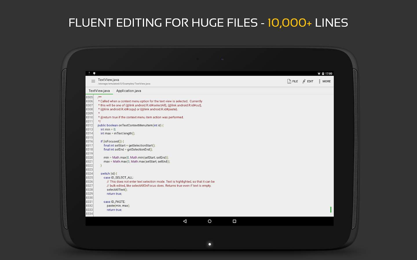 QuickEdit Text Editor Screenshot 9
