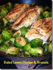 chicken and brussels