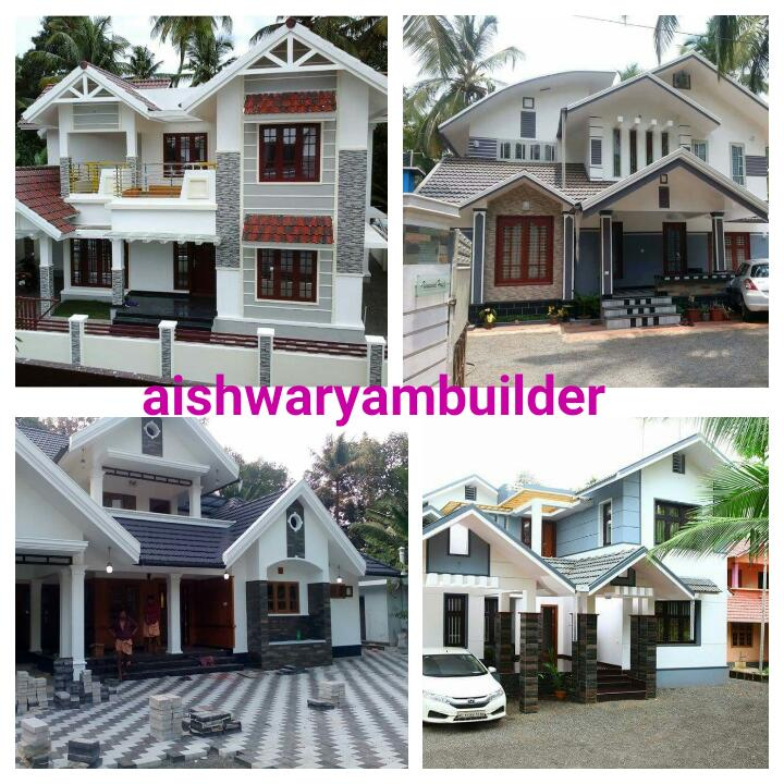 Contractors In Chennai: Modern Villas Designs, Villa