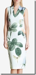 Ted Baker mint Distinguishing Rose midi dress