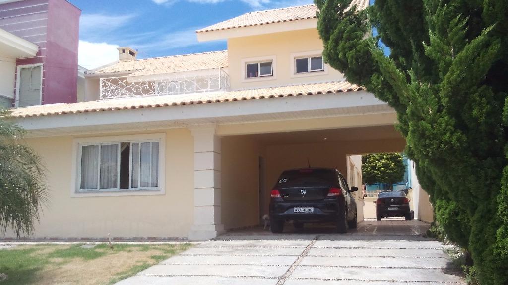 Sobrado residencial à venda, Fazenda Velha, Araucária.