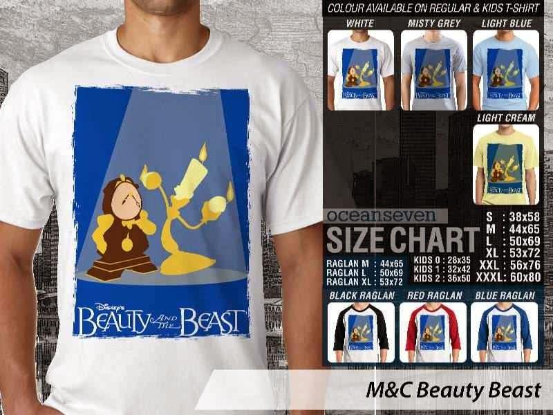 Kaos Movie Beauty Beast Film Cinema distro ocean seven