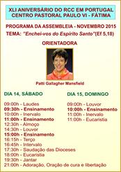 XLI Ass. RCC em Portugal - 14-15.NOV