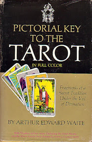Cover of Arthur Edward Waite's Book The Pictorial Key To The Tarot
