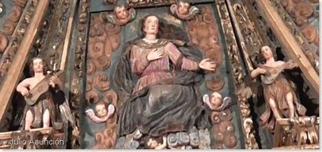 ángeles músicos - Iglesia de Santa Catalina - Cirauqui