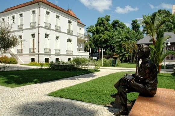 Rui Barata nella Praça das Aguas - Belém do Parà, fonte: Edson Lima