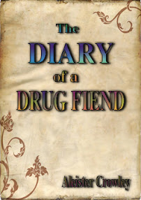 Cover of Aleister Crowley's Book The Diary of a Drug Fiend