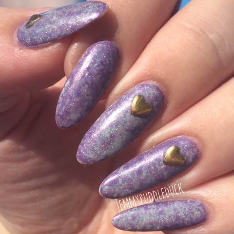 OPI ILNP CHARMINGLY PURPLE GARGANTUAN GREEN GRAPE CLING FILM MANI SARAN WRAP MANICURE DIY