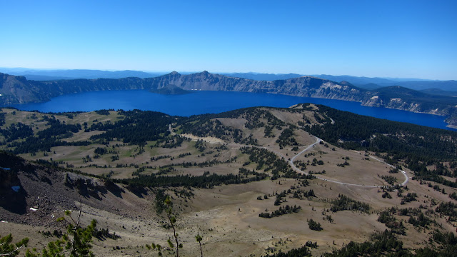 Crater Lake from Mt Scott
