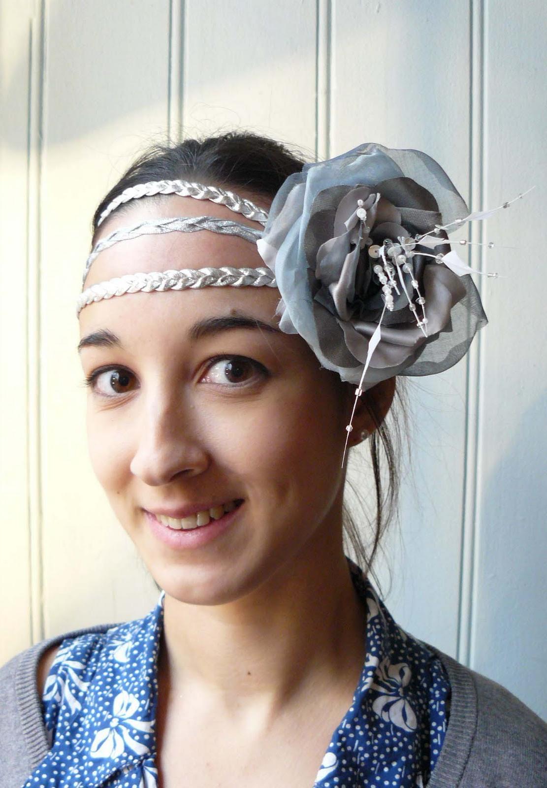 Sissi  headpiece for a wedding
