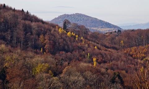 ... výhľad z Prieloh, Čierna hora ...