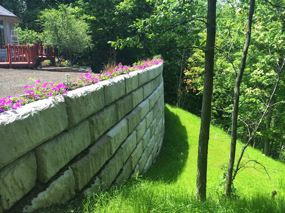 toledo area retaining walls