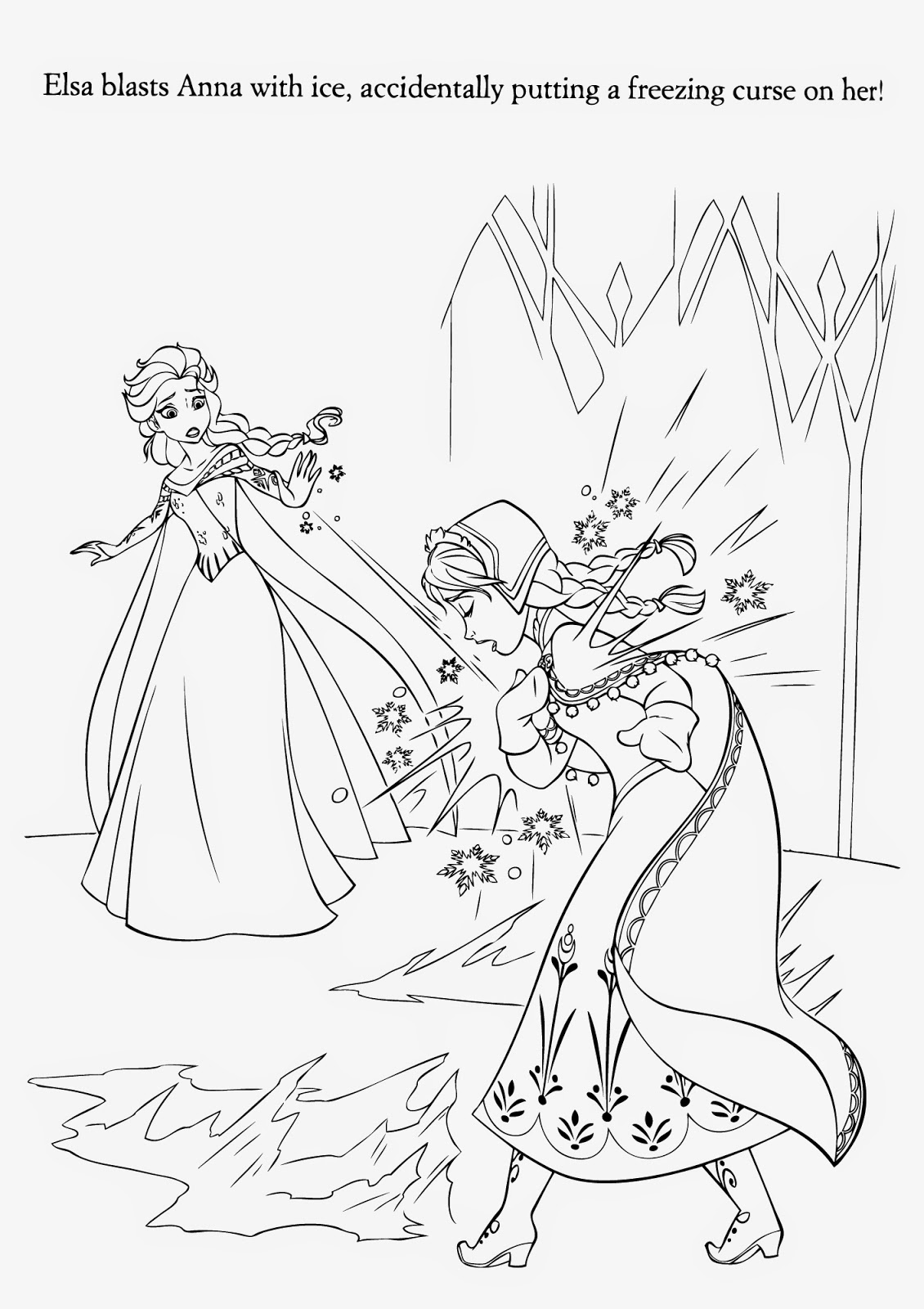 Frozen Coloring Pages HealthyChild  - free disney coloring pages frozen