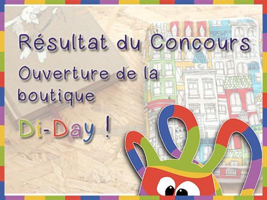 Résultats Concours Boutique Di-Day