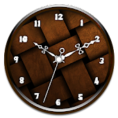 Brown Clock Live Wallpaper APK for iPhone