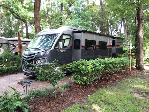 Site #106 at Hilton Head Island Motorcoach Resort