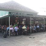 Eating breakfast at Cafe Du Monde in New Orleans 07232012-04