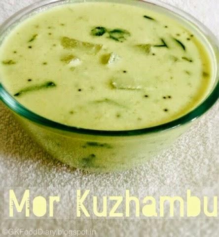 Mor Kuzhambu Recipes