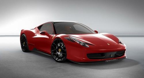 2010 Ferrari 458 Italia Red