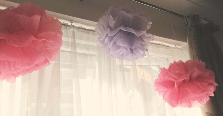 Engagement-Party-Paper-Pom-