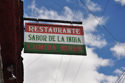 There are treasures to be found wherever you go, here it is Sabor de la India.