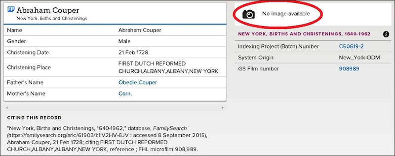 AbrahamCooper index familysearch