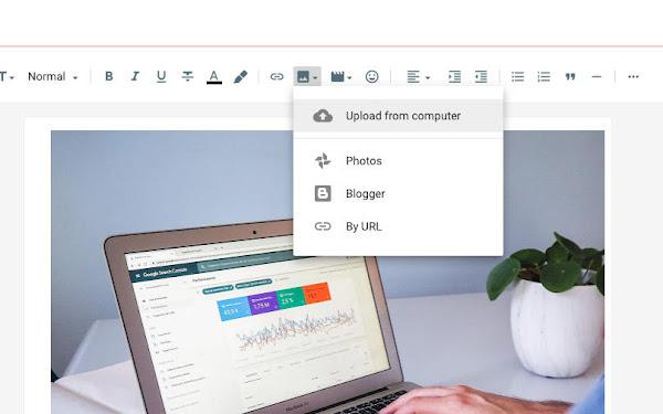 Upload Gambar di Blogger