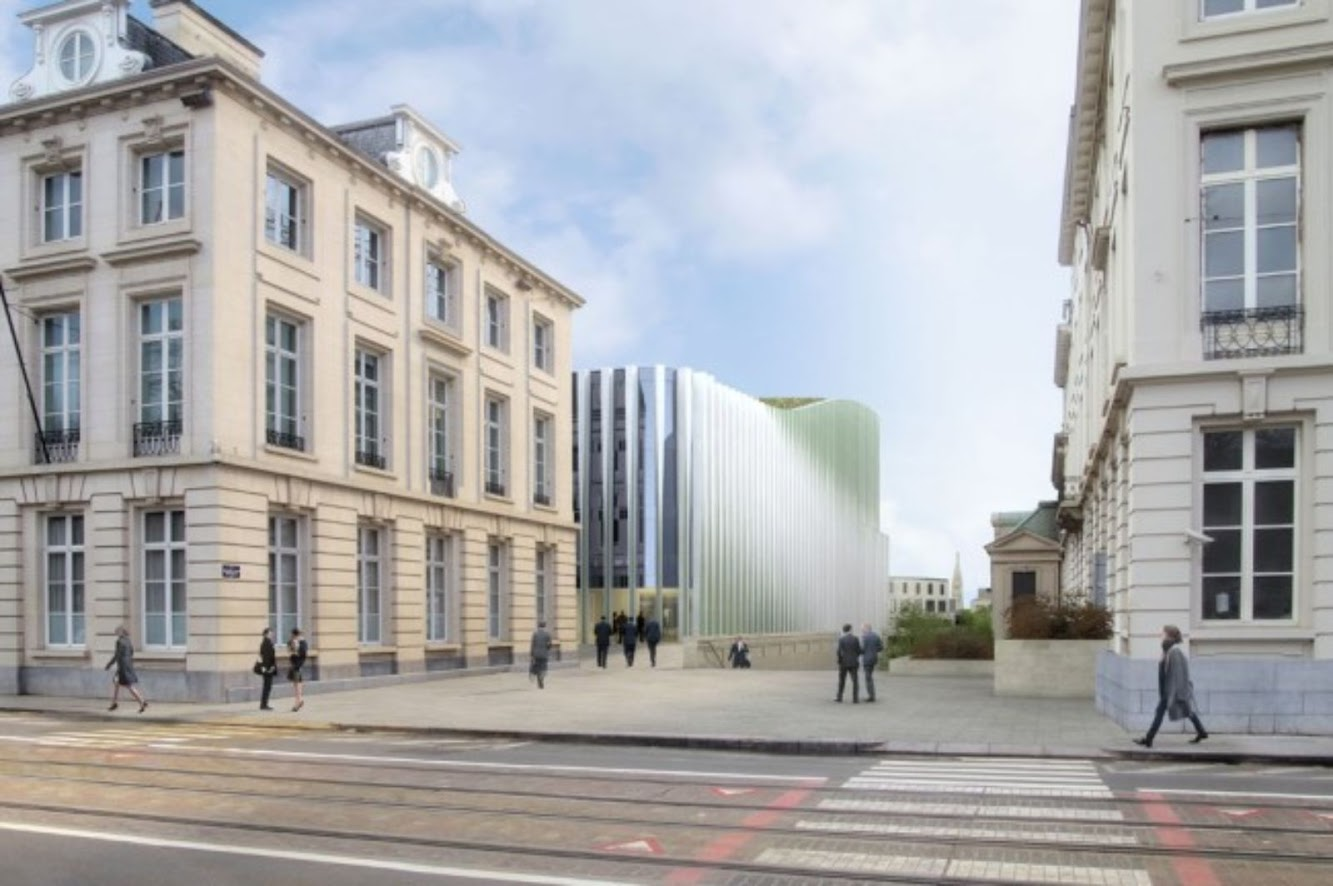 New headquarters for Bnp Paribas Fortis by baumschlager