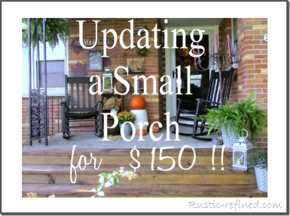 Front Porch Update for little money