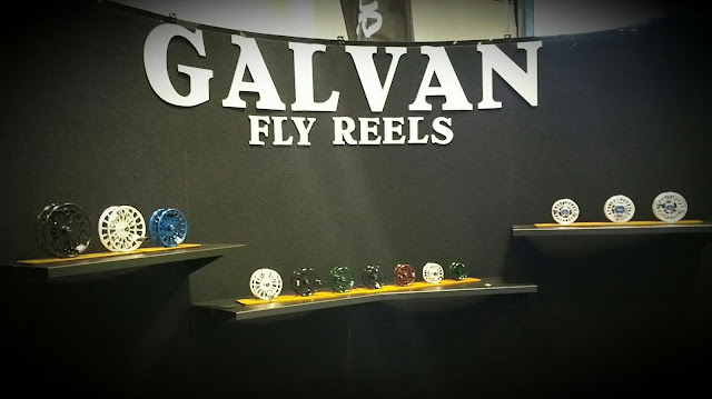The Suburban Angler - Galvan Fly Reels Showbooth