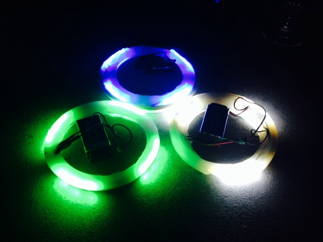 Putterfly Disc Golf Basket Lights