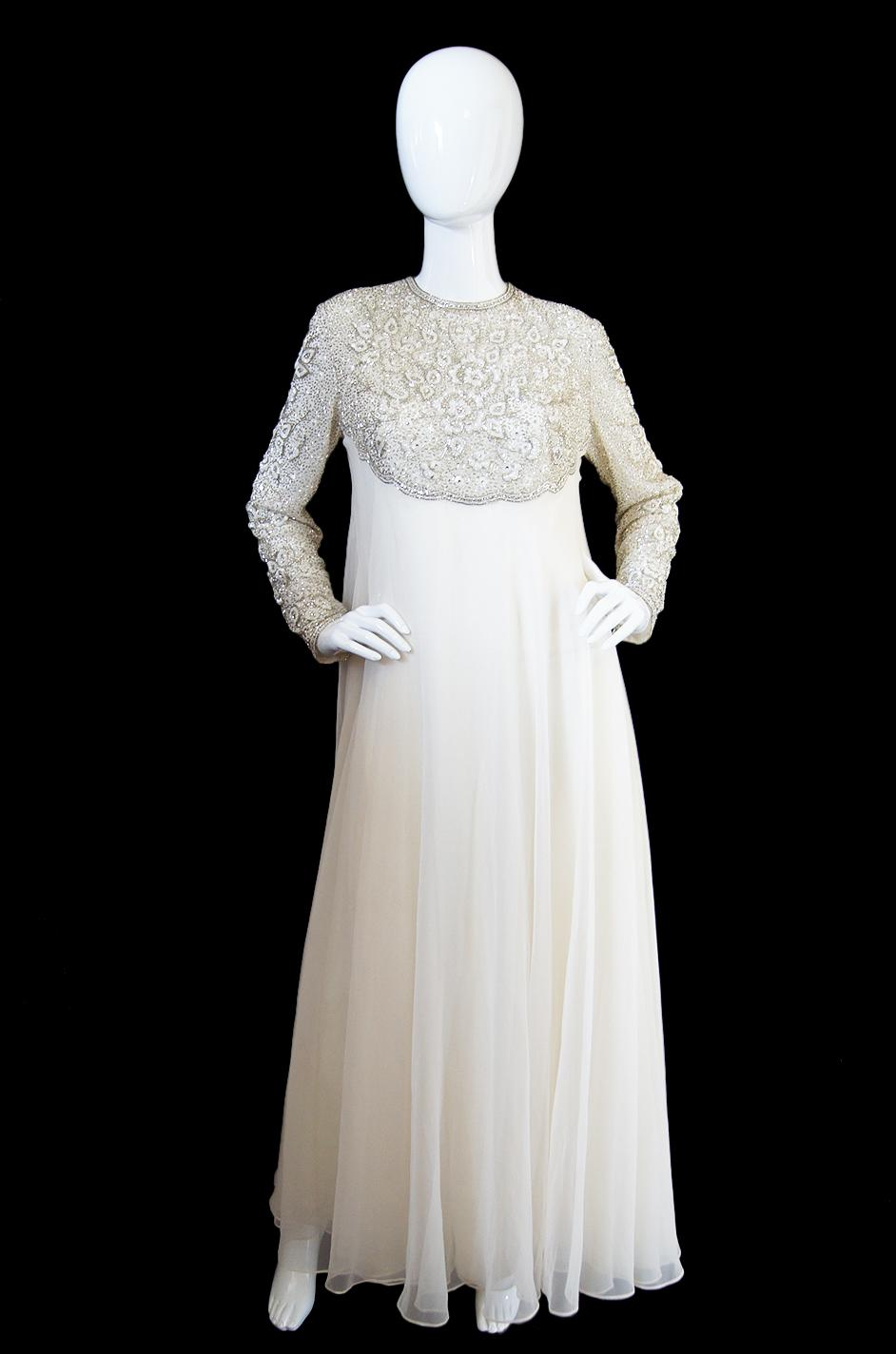 1960s Victorian Royal Beaded