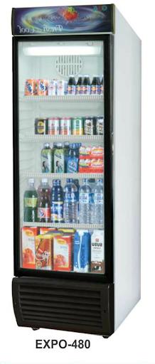 Mesin Pendingin Minuman 1 Pintu (Display Cooler) Kapasitas 480 Liter : EXPO-480