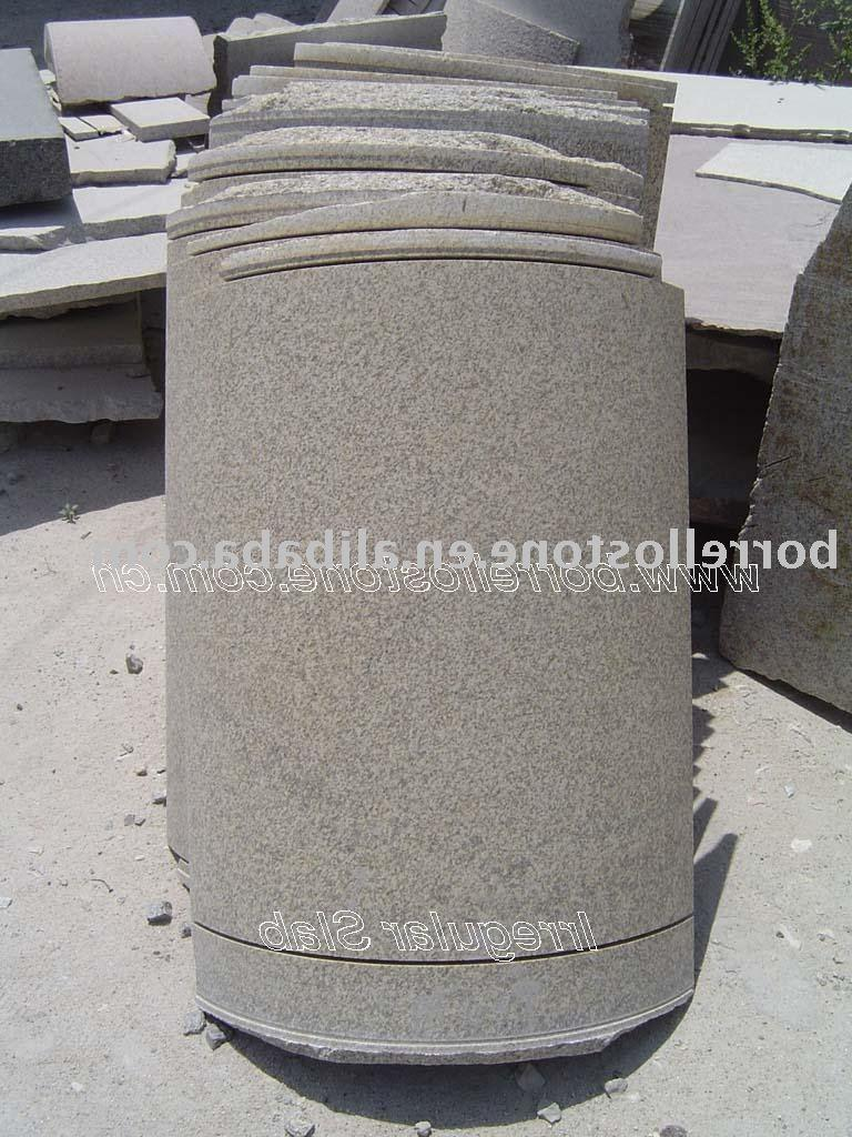 Yellow Granite half columns China  Mainland