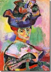 Matisse, mujer con sombrero 1905