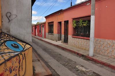 Street scene.