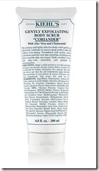 Kiehls Gentle Exfoliating body scrub