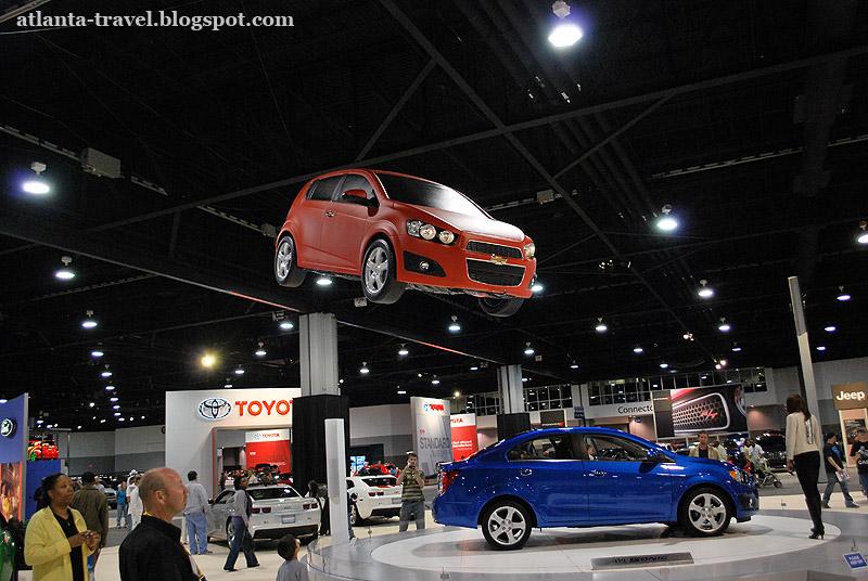 Автомобильная выставка в Атланте
