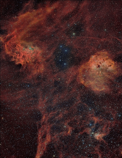 Nebulosas da Auriga