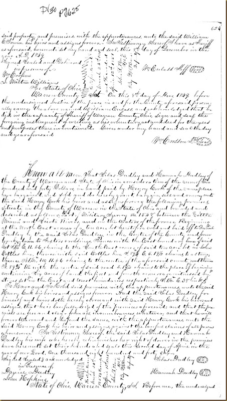Robert Irwin filed complaint Common Law in Warren County, Ohio 1849 3