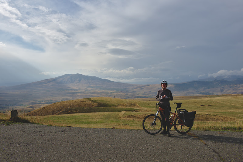 Ultimii kilometri inainte de Yerevan.